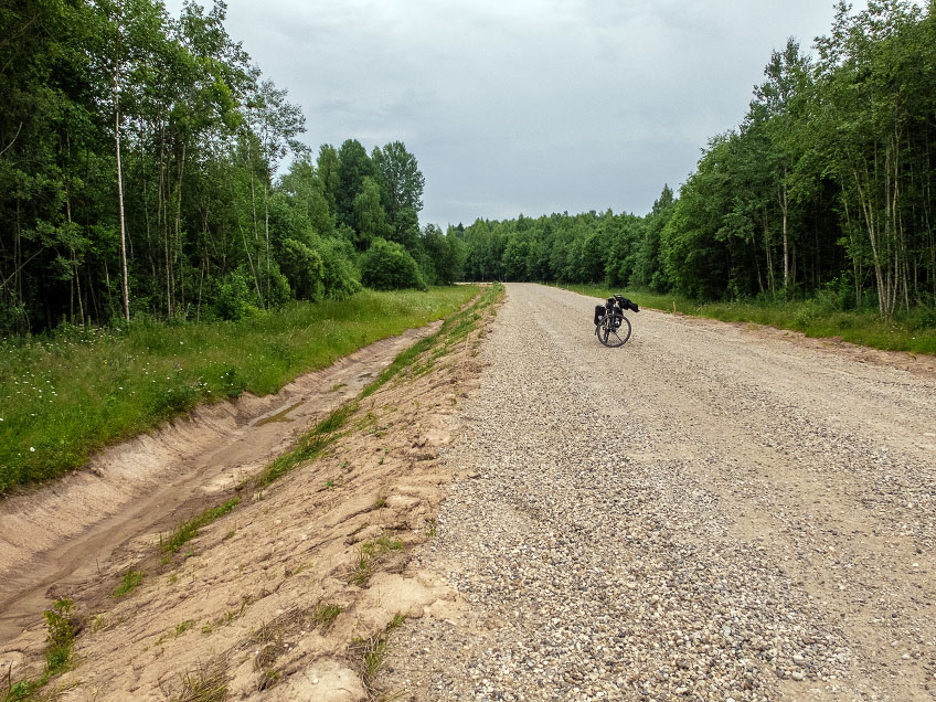 Road between Bocharovo and Headspring